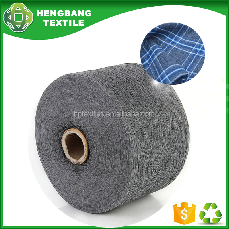 Very cheap 20s 100 cotton melange yarn open end recycled for weaving price