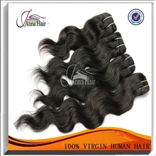 100% remy human hair high quality 5a remy pound hair