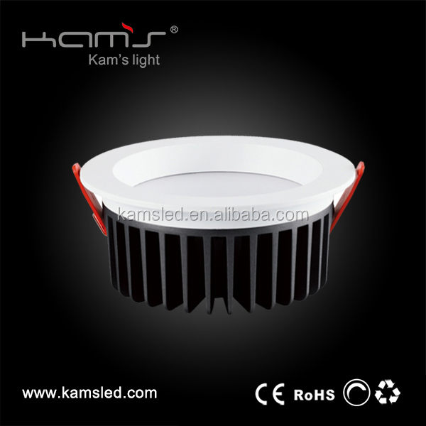 aluminum led housing IP20 9W 4inch led lamp smd5630 led downlight dimmable
