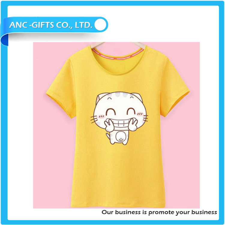 promotional good sales high quality new casual design cheap organic cotton t.shirt