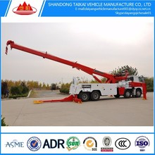 heavy tow China factory Brand 50 ton and 60 ton Rotator Tow Truck for sale