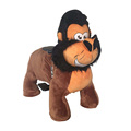 Factory price battery operated walking animal ride for mall