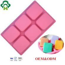Free Shipping Wholesale tall and skinny silicone soap making molds handmade tool handmade bath silicon form handmade soap making