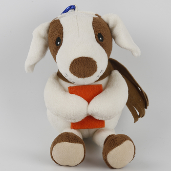 Custom plush toy keychain stuffed dog keychain plush 10cm