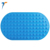 Fast drying baby silicone non slip silicone rubber bath mat with suction cup