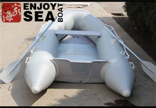 270 PVC inflatable rubber boat, jet fishing boat inflatable, inflatable yacht boat