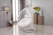 Home indoor living room relaxing swing chairs for outdoor porch wicker hanging basket
