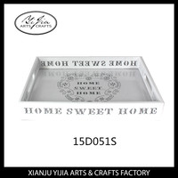 new products 2015 innovative product carved wooden plastic composite serving tray for indian wedding