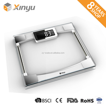 Electronic Household Glass Bamboo Digital Weighing Body Fat Scales