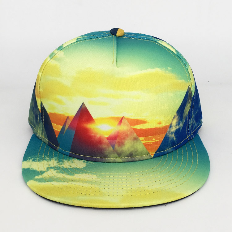 Cheap factory price 5 panel flat brim sublimation trucker cap <strong>hat</strong>