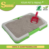 Super practical automatic cat litter box with scoop