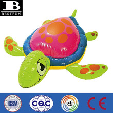 customized inflatable giant sea turtle vinyl soft toy sea animals plastic toy sea animals