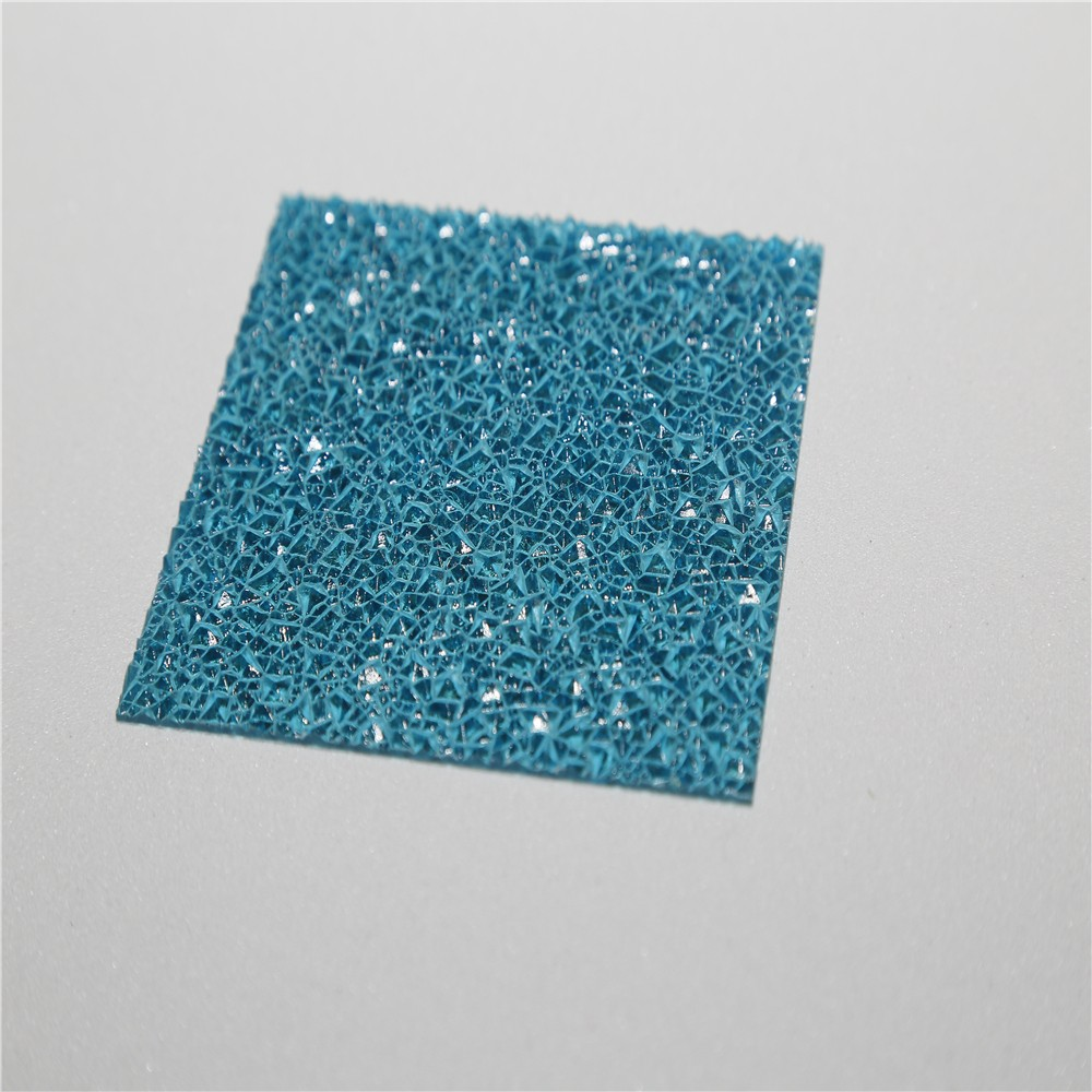 100% Bayer material lexan polycarbonate embossed sheet