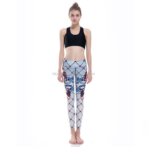 Ladies Stretch gym leggings running pants running tight for women