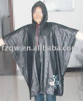 Outdoor waterproof rain poncho pvc clothes
