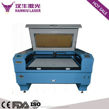 11 years experience fabric leather co2 double head laser cutting machine LK-1310T