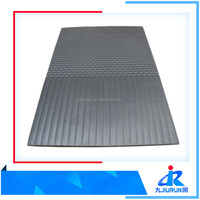 Non - Slip natural Rubber Floor Sheet Floor Mat