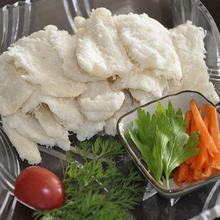 Dried High Quality Skinless Skinon Pacific Cod Migas Cod Loin Light Salted Cod Fillet