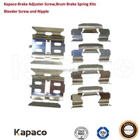 Kapaco Brake calipers repair kit for Mitsubishi Pajero Space Outlander V43 V44 V45 V46 N84W CU2W CU4W CU5W MR389628 MR389599
