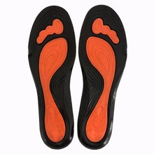 LX-0641 Popular TPE gel anti-slip magnet massage insole