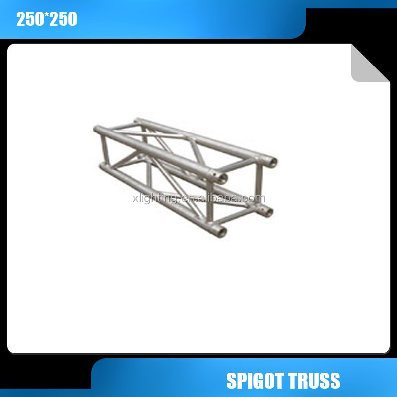 aluminum lighting truss 250x250mm square aluminum spigot truss aluminum truss