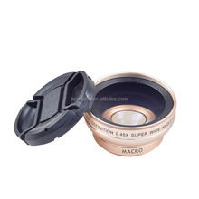 2017 New Camera Lens Cover For Mobile Phone Mobile Camera Extra Lens 0.45X Wide Angle