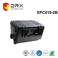 EVEREST ip68 hard protective tool box waterproof plastic equipment case for DJI3 and DJI4