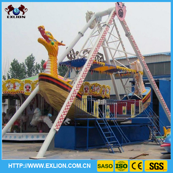 Exlion 2016 new amusement park product theme park pirate ship amusement pirate ship bed