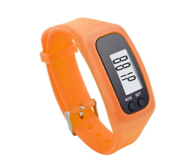 Trending Hot Products Multi-Function LED Light Silicone Children Pedometer Wrist Watch
