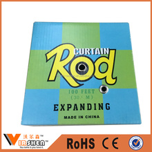 Low Price Pvc Coated Expanding Wire Spring Curtain Rod