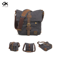 With leather canvas one single wide strap shoulder bag for men durable designers