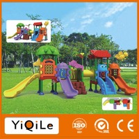 Natural style outdoor cat playground playhouse children outdoor playground activity playground