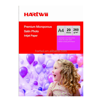 280g waterproof premium microporous Satin photo paper forfuji canon epson printer
