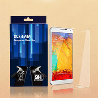 for galaxy note 3 tempered glass film screen protector, anti finger print screen guard