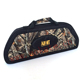 Semi-rigid compound bow case archery recurve bow bag hunting bow and arrow case