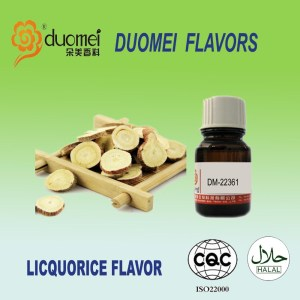 DM-22361 High E Concentrate liquid Licquorice flavor