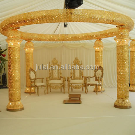 Hot sale wedding mandap sale india at wedding event decoration in Foshan