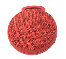 New arrvial waterproof cloth art bluetooth speaker outdoor portable speaker with mic