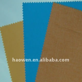 polyester milky coated pongee fabric