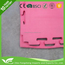Multifunctional double walls fabrics inflatable gym mats/pebble stone door mat abc floor mat puzzle for wholesales