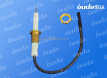 Ignition electrode for outdoor gas BBQ grill