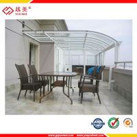 polycarbonate roofing sheet for patio cover materials