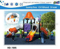 (HD-1905) outdoor plastic slide /school playground sports equipment airplane playground equipment