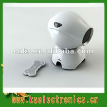2012 new dog shape bluetooth speaker for MP3 player, iphone,ect.