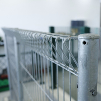 Factory price PVC coated mesh Roll Top Fence
