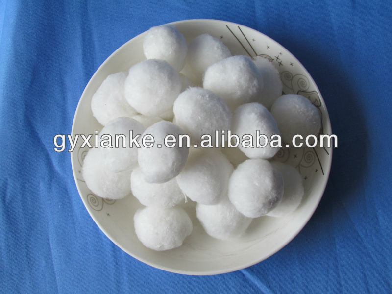 Best price Fiber Ball Filter Media for water treatment manufacture