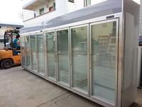 vertical ice cream/frozen food display freezer showcase/cabinet