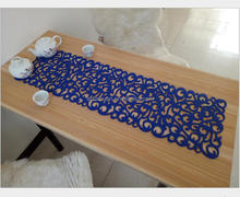 Wholesale Custom Made Home Decorations Laser Cut Felt Table Runner