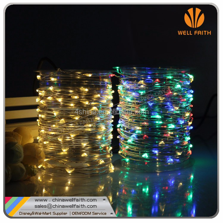 Flashing Rice Christmas Light String,CR2032 Battery operated Led Battery String Light
