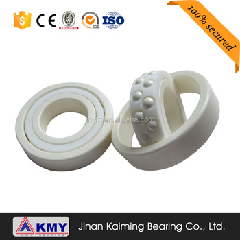 China supplier high quality Copper plating ceramic bearing 6200